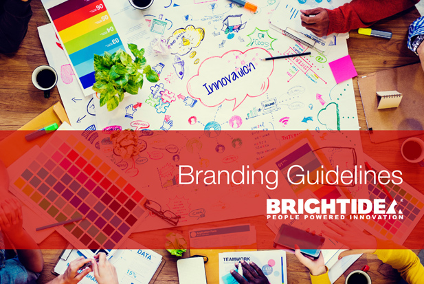 Web and Graphic Designer - Brightidea Brand Guidelines Thumbnail