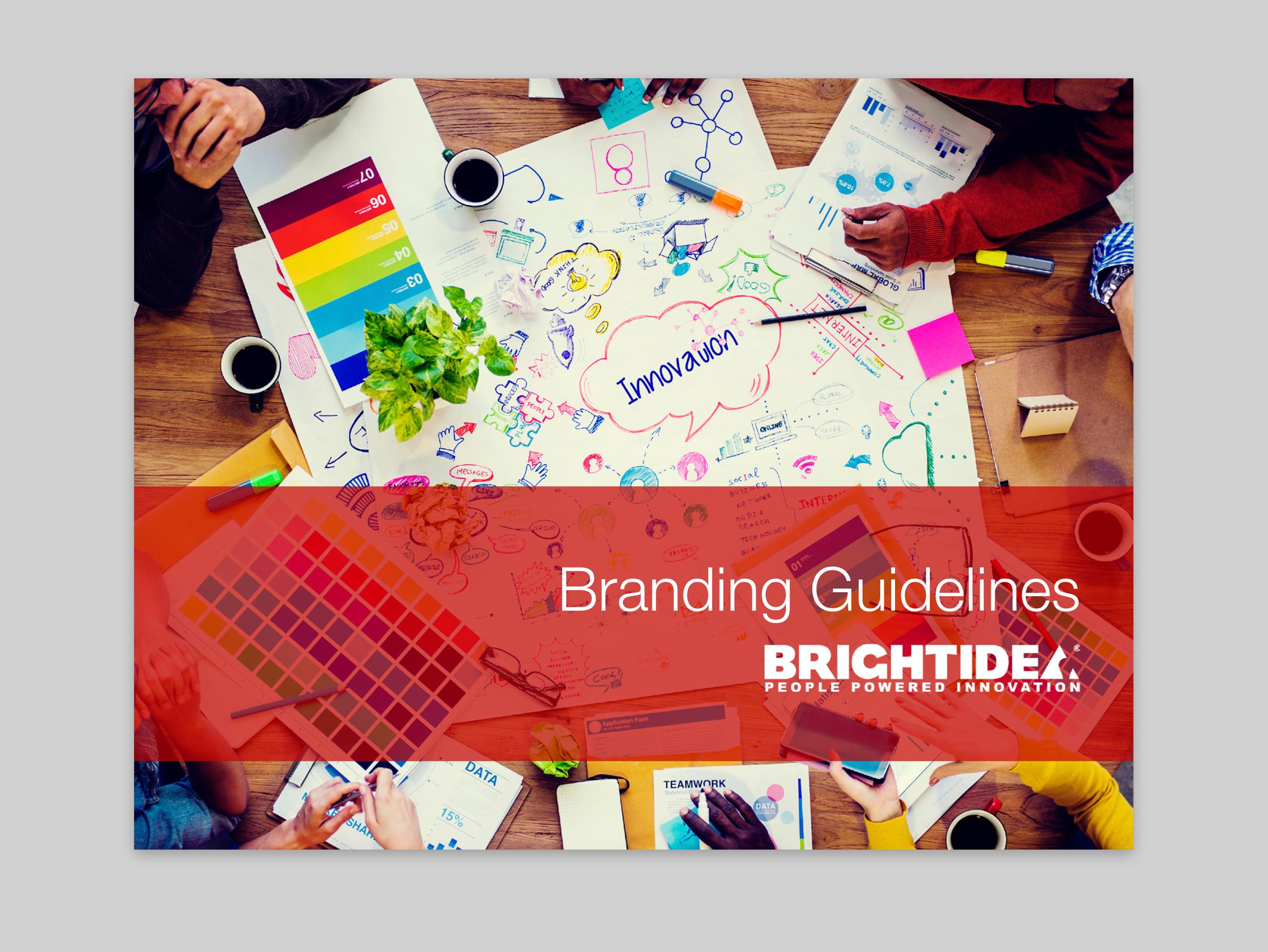 Brightidea Brand Guidelines Cover