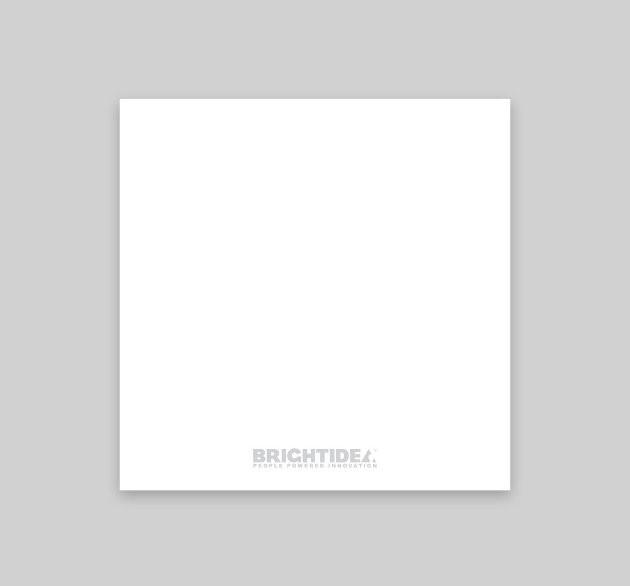 Brightidea Every Idea Card Back