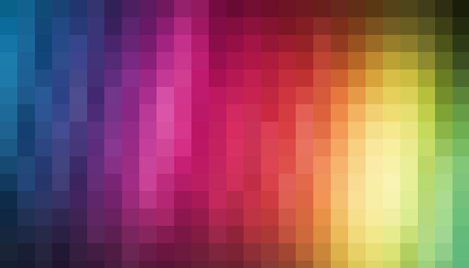 Brand Colors Pixelated
