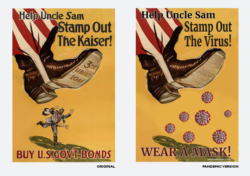 Help Uncle Sam Stamp Out the Kaiser - Michael Lutjen