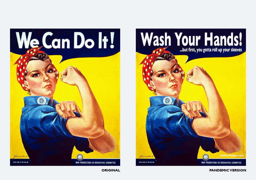 We Can Do It Poster - Michael Lutjen
